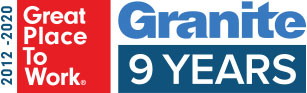 Great Place to Work 2012 - 2020 – Nine Years in a Row